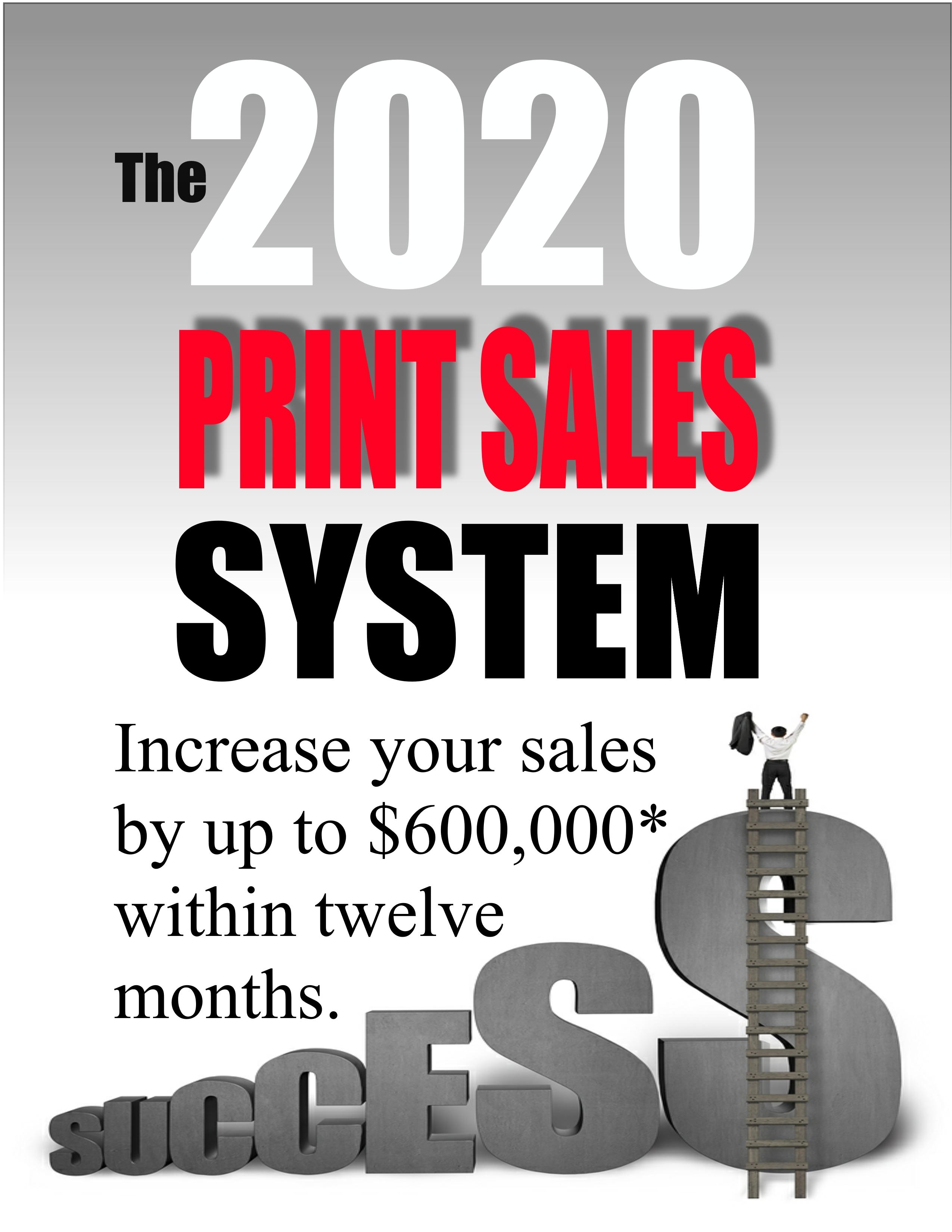 2020 Print Sales System